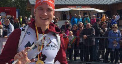 Benedikt Doll ist neuer Deutscher Meister im Biathlon Sprint