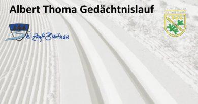 Abgesagt: Albert-Thoma-Gedächtnislauf