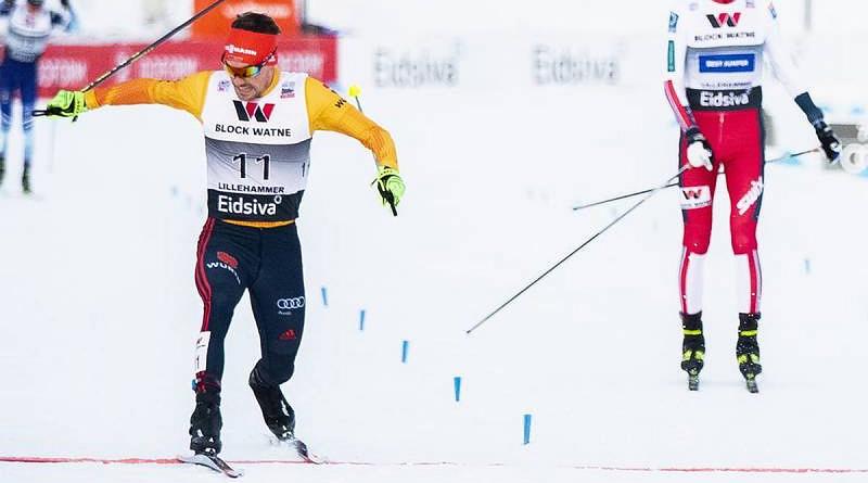 Rießle in Lillehammer nach Foto-Finish Dritter