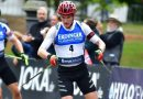 Doll beim City Biathlon in Wiesbaden