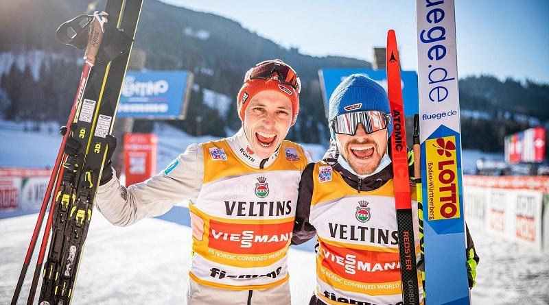 Riessle gewinnt Teamsprint in Val di Fiemme